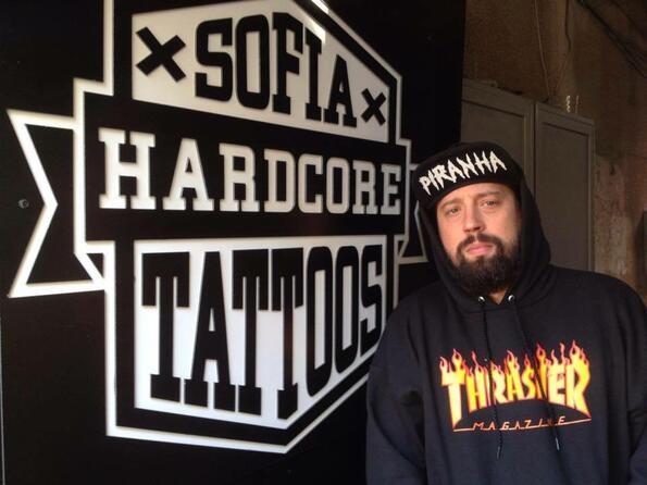 Александър Първанов-Шута за Sofia Hardcore Tattoos, бандите и концертите