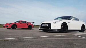 НЯМА ТАКОВА СЪСТЕЗАНИЕ: Porsche 911 срещу Nissan GT-R