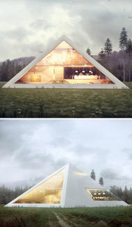 Къща-пирамида е новото готино нещо в архитектурния свят