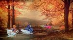 Този художник добавя съвременни елементи към стари картини