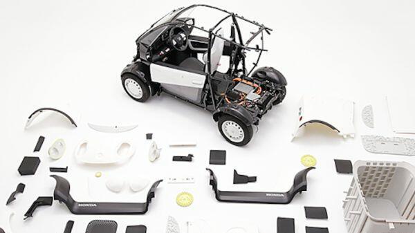 Honda пуска кола, която можеш да си напечаташ и сглобиш сам