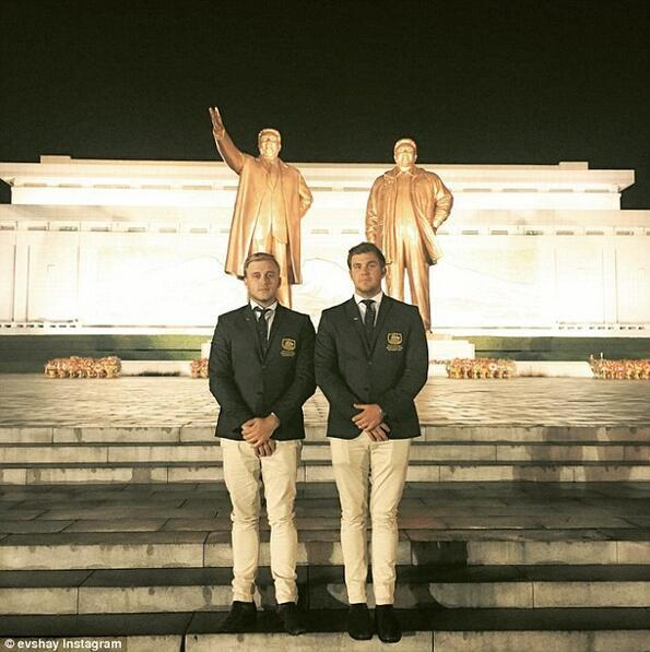 Австалийци се престориха за професионални голфъри, за да влязат в Северна Корея