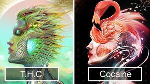 Ето как наркотиците въздействат на изкуството