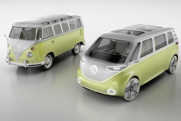 Хипи ванът на Volkswagen отново в производство?
