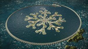 Във Френска Полинезия ще строят първия в света плаващ град!