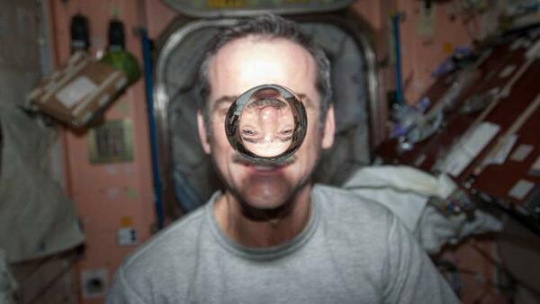 Типичен ден в Международната космическа станция!