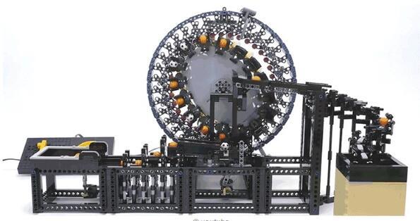 Невероятни LEGO машини, които ще ви изумят