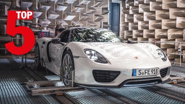 Най-изумителните Porsche-та за всички времена