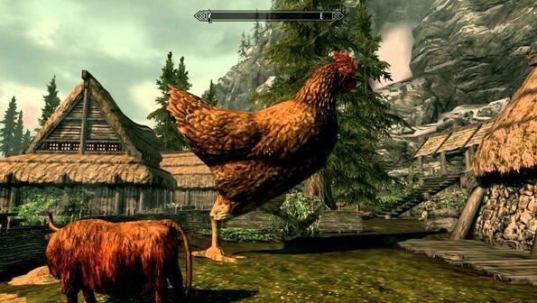 Видео на деня: Най-огромната кокошка, която си виждал!