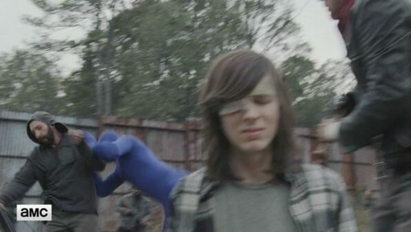 """Тигърът в новия сезон на """"The Walking Dead"""" e изигран от човек!"""