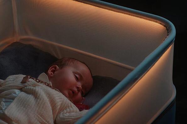 Ford направи детско креватче, което симулира пътуване в кола!
