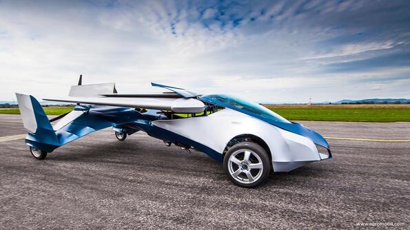 AeroMobil: словашката летяща кола е в  производство!