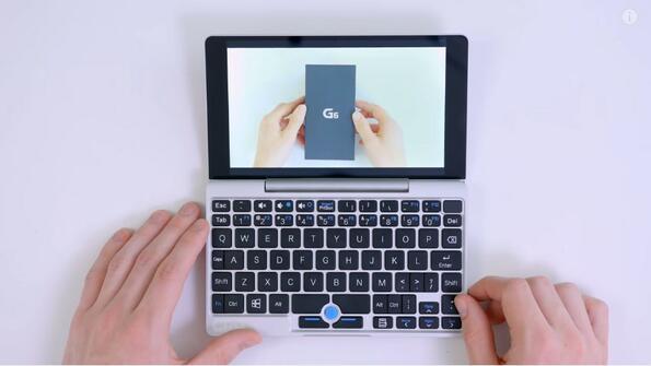 Това ли е най-малкият лаптоп на света?