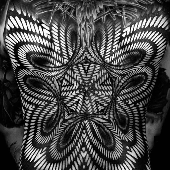 Зрителните илюзии като стил в татуировките!