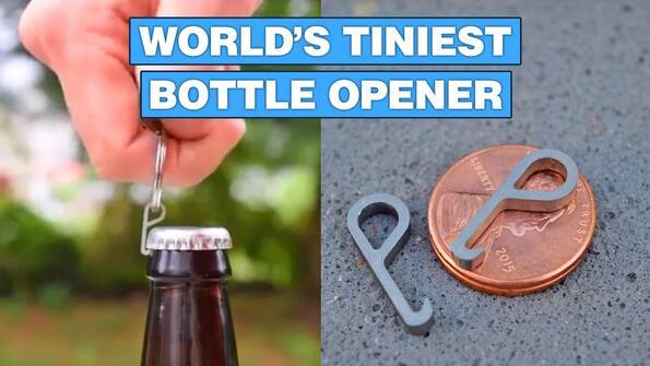 PryMe: най-малката отварачка за бира в света!