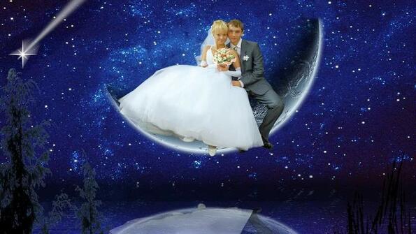 Поредна доза мрак от сватбените снимки!