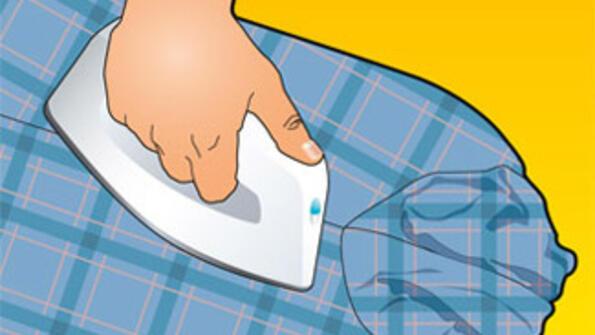 Съвет без думи: как правилно да си изгладиш ризата