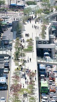 Огромен парк на мястото на стара магистрала в Сеул!