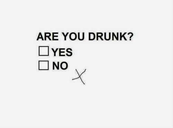 Къде да ходиш пиян!