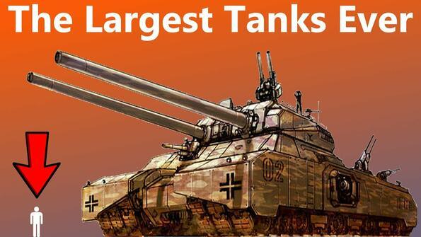 Всички най-големи танкове в света в едно видео!