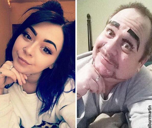 <p>Крис Мартин е подкастър и комик, но най-вероятно го познавате най-добре като таткото, който копира по комичен начин снимките на дъщеря си в Instagram.</p>