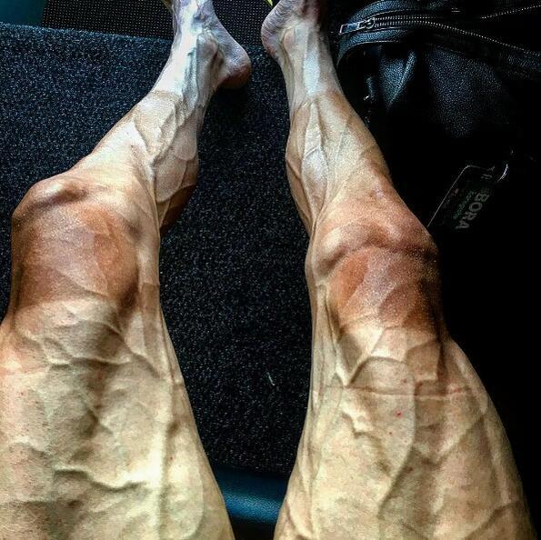 Как изглеждат краката на човек след 16 етапа на Тур дьо Франс