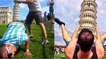 Кой каза, че снимките с кулата в Пиза са скучни?