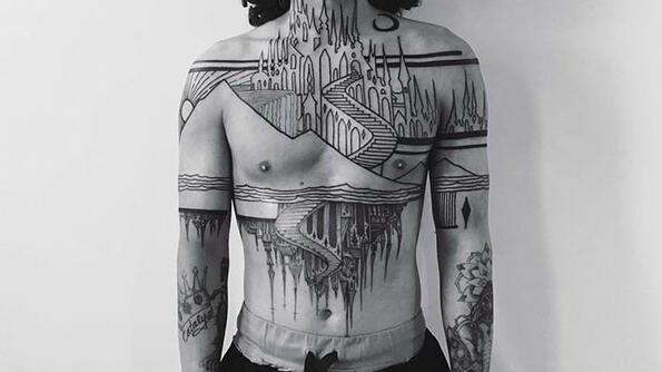30 идеи за татуировки, вдъхновени от архитектурата!