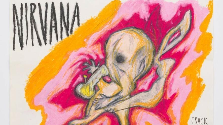 Рисунките на Кърт Кобейн, които не бяха публикувани преди!