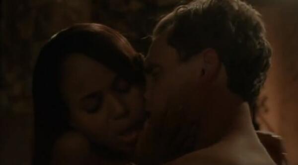 """Най-скандалните секс сцени на Оливия и президент Фицджералд Грант от """"Скандал"""""""