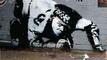 Намериха забравен от десетилетия графит на Банкси!