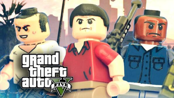 GTA от Lego: пластмасово безчинстване!