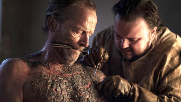Как е заснета най-отвратителната сцена в Game of Thrones!