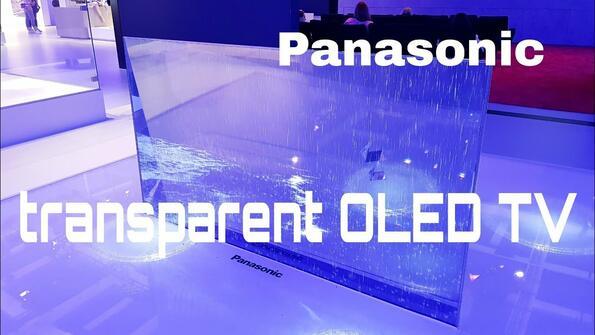 Ето какъв е прозрачният OLED-телевизор от Panasonic: видео