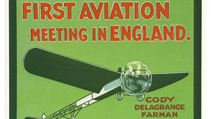 Невероятно плакати от авиошоута през 1909-1910 година!