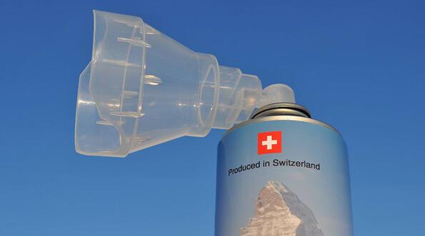 Абсурд на седмицата: въздух от Алпите за едва 21 долара?!