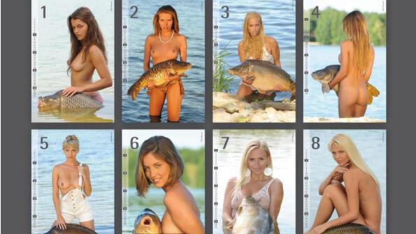 Голи жени и риболов - перфектната комбинация (16+)