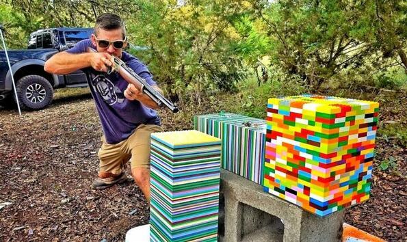 Може ли Lego да спре куршум: тестваме!