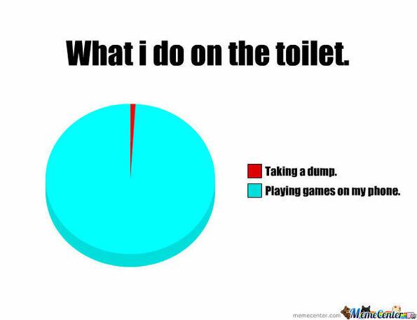 След като прочетеш това, никога няма да взимаш телефона в тоалетната!