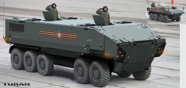 Руските военни машини продобиват футуристичен облик