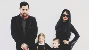Най-бруталните Хелоуин костюми на семейството на Джоел Мадден и Никол Ричи