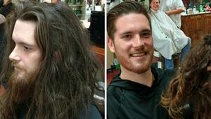 Преди и след подстрижката