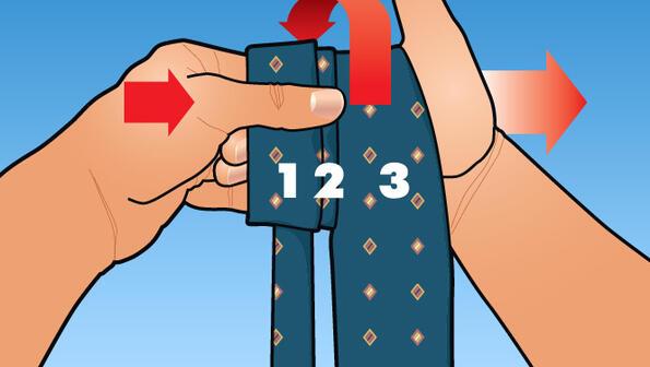 Съвет без думи: завържи вратовръзка за 3 секунди!
