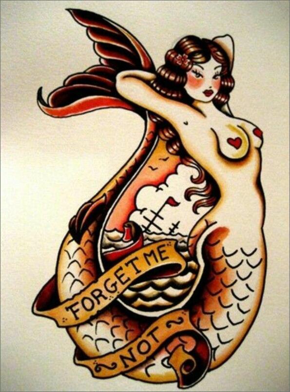 Необикновените значения на моряшките татуировки