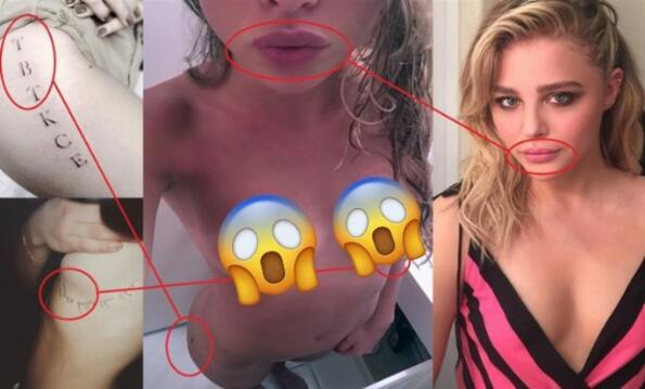 Хакери пуснаха в мрежата чисто голи снимки на Клои Грейс Морец (16+)