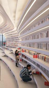 В Китай отвориха най-яката библиотека в света с 1,2 млн. книги