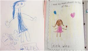 """<p>Децата никога не лъжат. Това ясно се доказва с тези рисунк, с които показват родителите си в """"най-добрата"""" им светлина!</p>"""