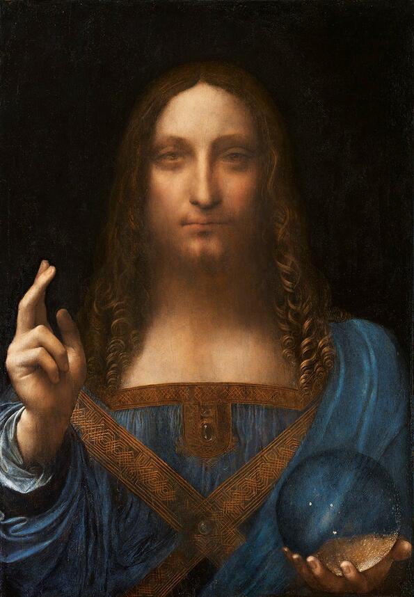 """Рекордна сума е заплатена за картината на Леонардо да Винчи – """"Спасителят на света"""""""