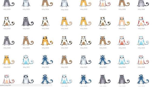 В интернет се търгува с виртуални котки!
