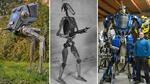 Полски артист създава брутални роботи от стари метали